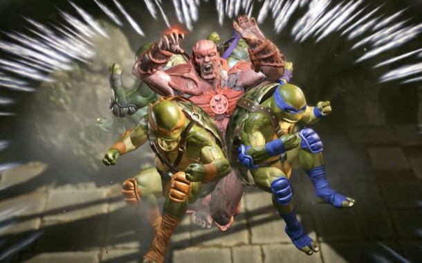 Teenage Mutant Ninja Turtles kick their way into Injustice 2