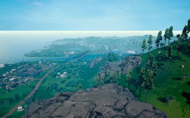 Check out the new PUBG map