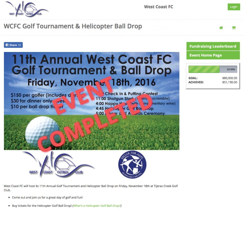OC Surf Golf Fundraiser