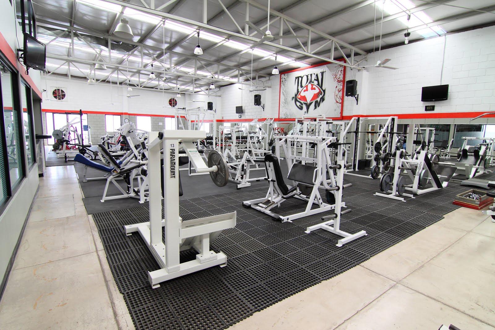 Total gym m xico nuestras instalaciones for Gimnasio total