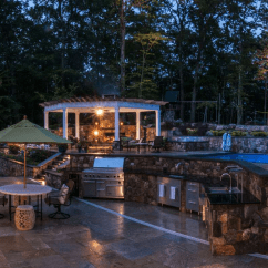 Outdoor Kitchens Pictures Painted Kitchen Cabinets Factors To Keep In Mind When Designing Setup Around Swimming Pool