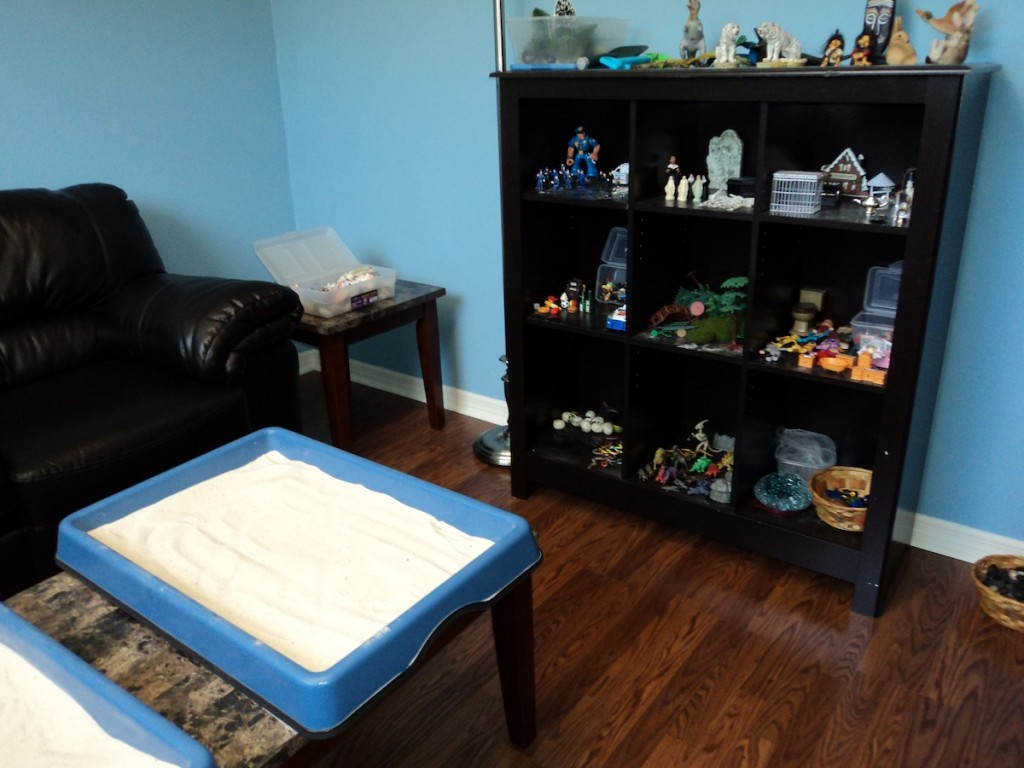Child or Teen Play  Sand Tray Therapy in Orlando Lake