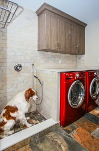 Laundry with Dog Shower - Total Living Concepts