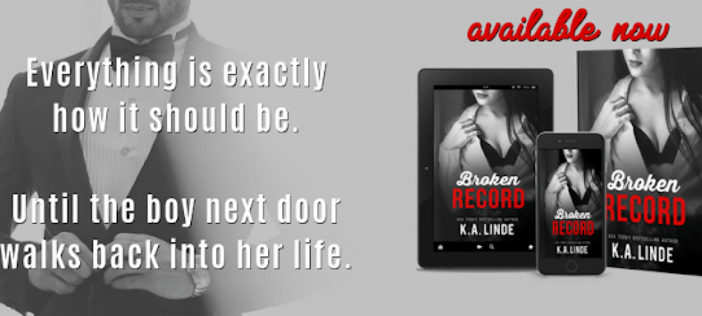 Book Review Tour: Broken Record by K.A. Linde