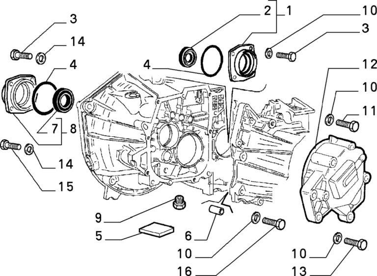 Alfa Romeo GTV/Spider (916) V6 Diff Large O Ring Seal