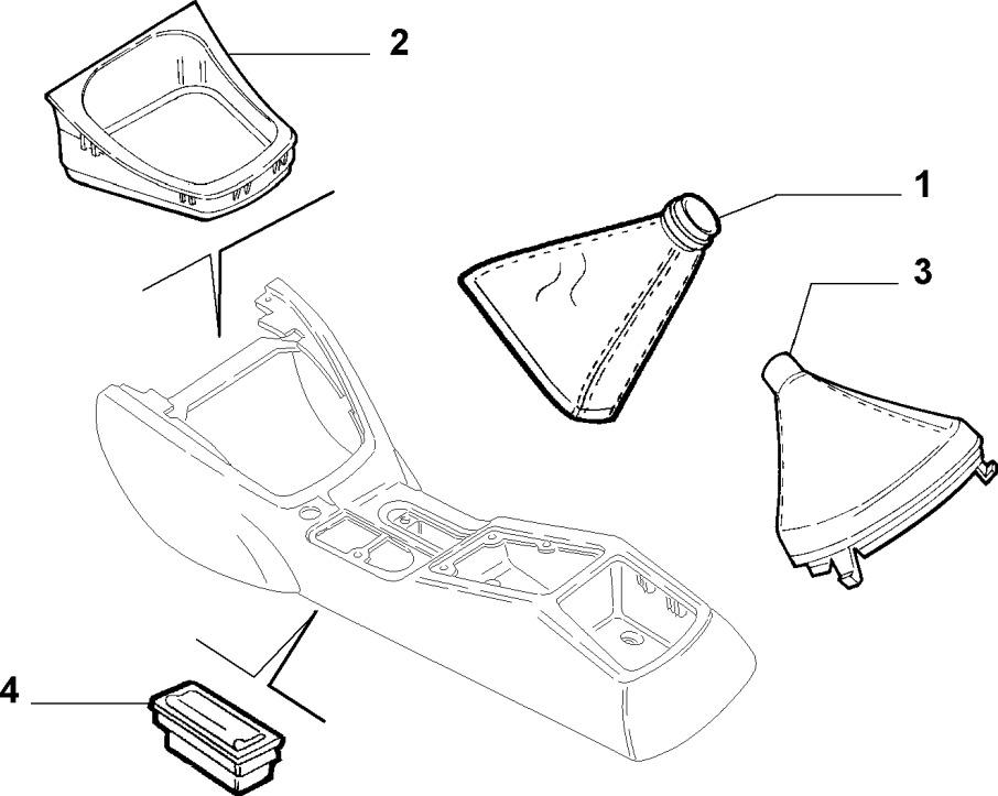 Alfa Romeo GTV/Spider Handbrake Lever Gaiter