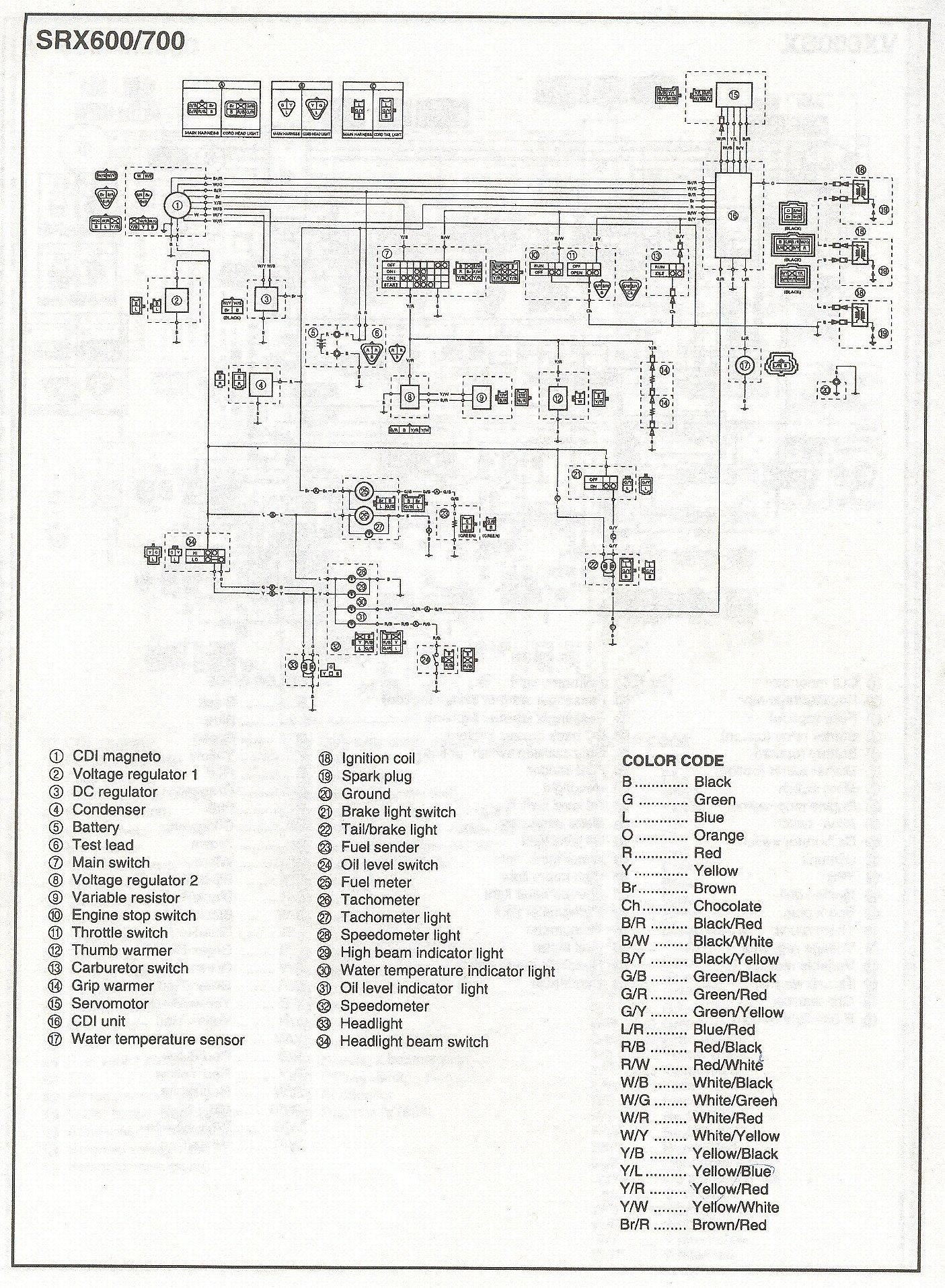 2009 yamaha raptor 700 wiring diagram trailer plug great installation of 2001 srx easy diagrams rh 89 superpole exhausts de sx