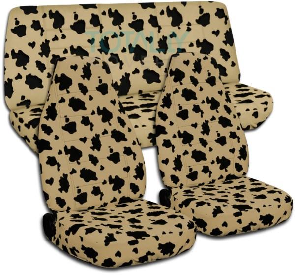 Animal Print Car Seat Covers Zebra Leopard Tiger