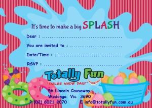 Boys Bday Invite Blank
