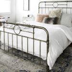 King Size Bronze Metal Pipe Bed Walker Edison Bkmpbr