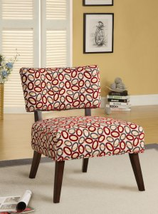 Able Accent Chair In Fabric Espresso Acme Furniture 59074