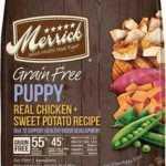 Merrick Grain-Free Puppy Real Chicken and Sweet Potato Recipe Dry Dog Food