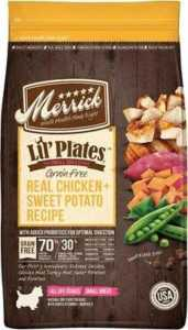 Merrick Lil' Plates Grain-Free Real Chicken + Sweet Potato Recipe Small Breed Dog Food