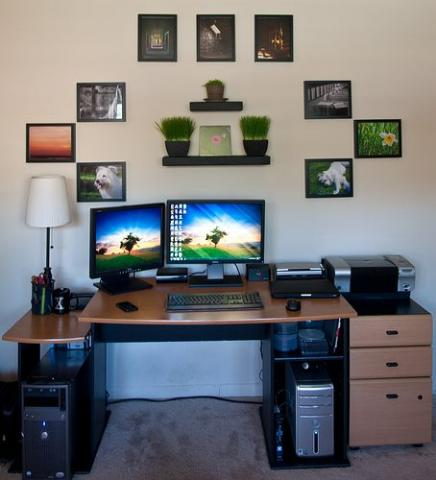 How To Decorate Your Home Office Like A Boss Totally Home