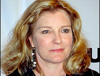 Kate Mulgrew - EQUUS opening night - Photo from Playbill