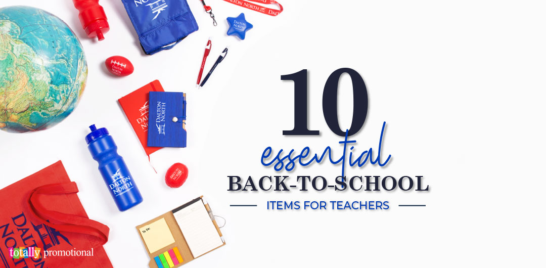 essential back to school gifts for teachers graphic