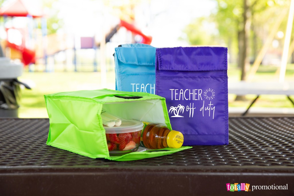 back to school teacher gift lunch bags