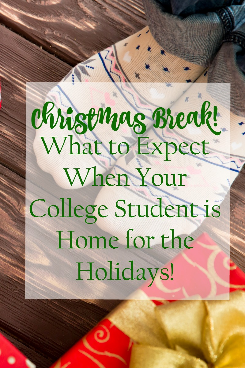 Christmas Break: What to Expect When Your College Student is Home ...