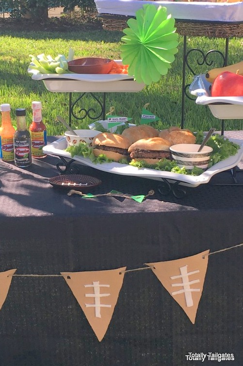Hail Mary Habanero Hamburgers will be a touchdown at your tailgate!
