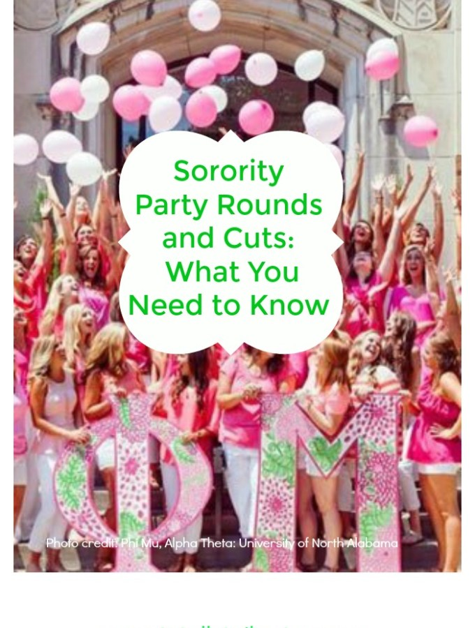 Sorority Party Rounds and Cuts