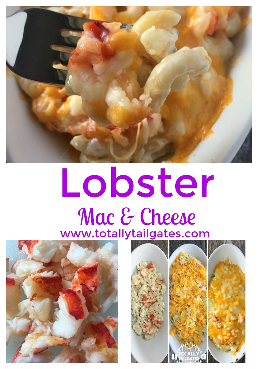 Lobster Mac & Cheese is an easy casserole and perfect for company. Plus, it's easy!