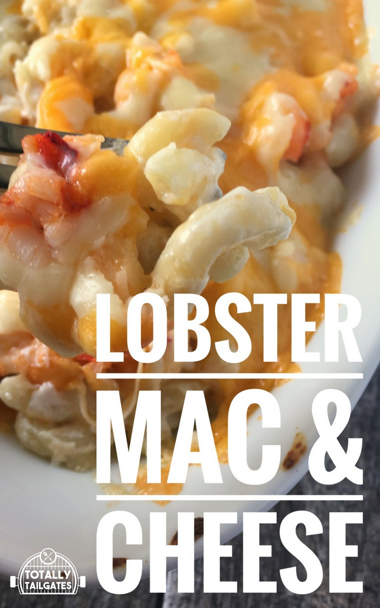 Lobster Mac & Cheese is impressive, delish and SO easy!
