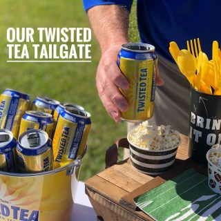Our Twisted Tea Tailgate