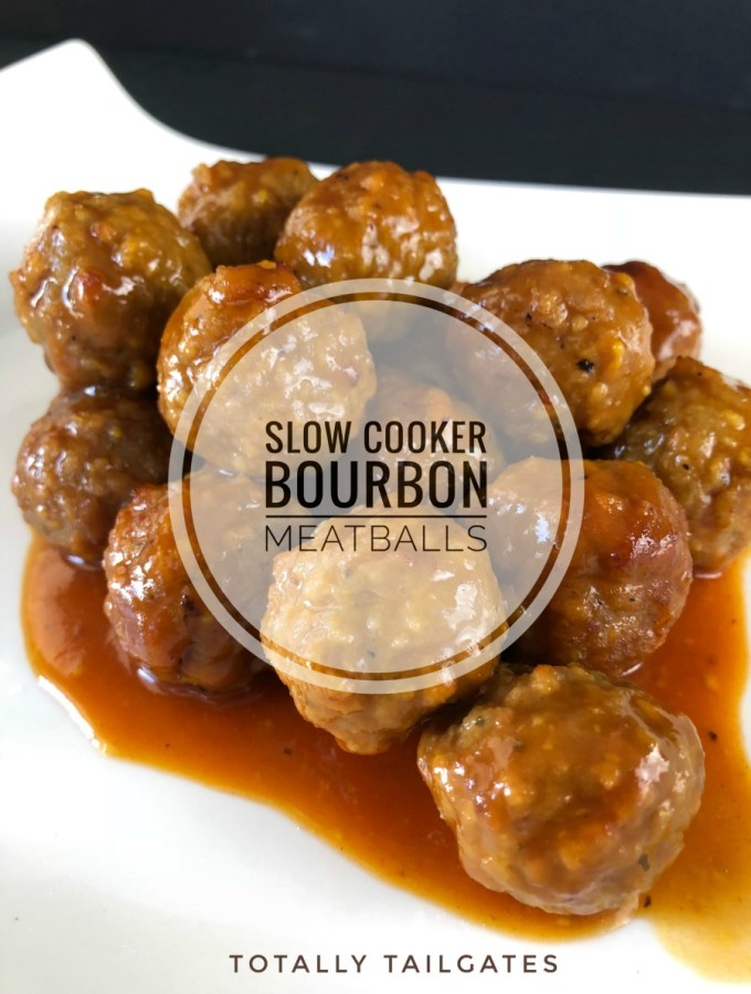 Slow Cooker Bourbon Meatball Appetizers