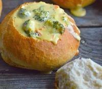Saturday Recipe: Broccoli Cheese Soup Bread Bowls ...