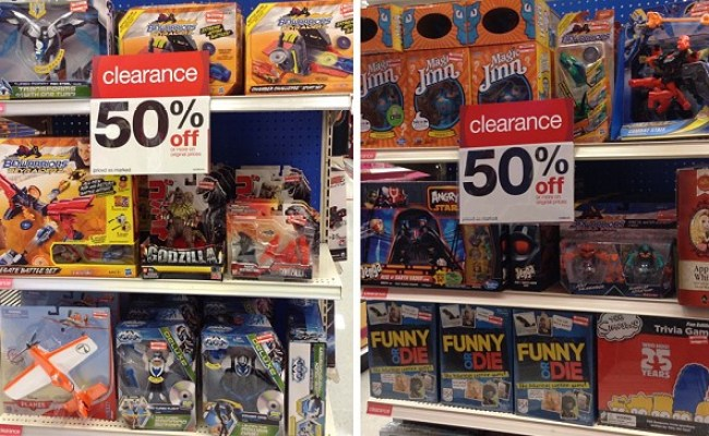 Update On The Big Target Summer Toy Clearance