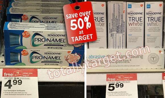 Sensodyne toothpaste coupon