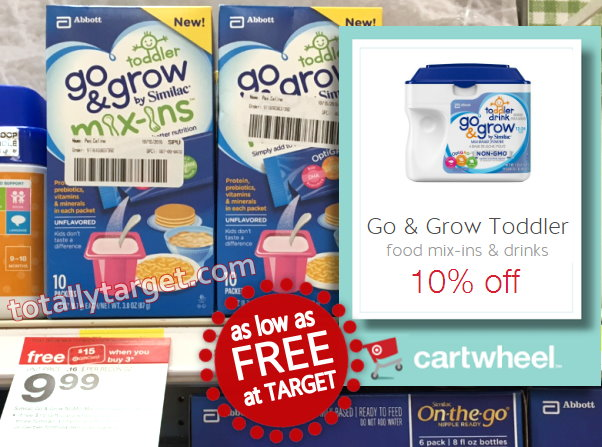 Similac Go Amp Grow Mix Ins As Low As Free At Target