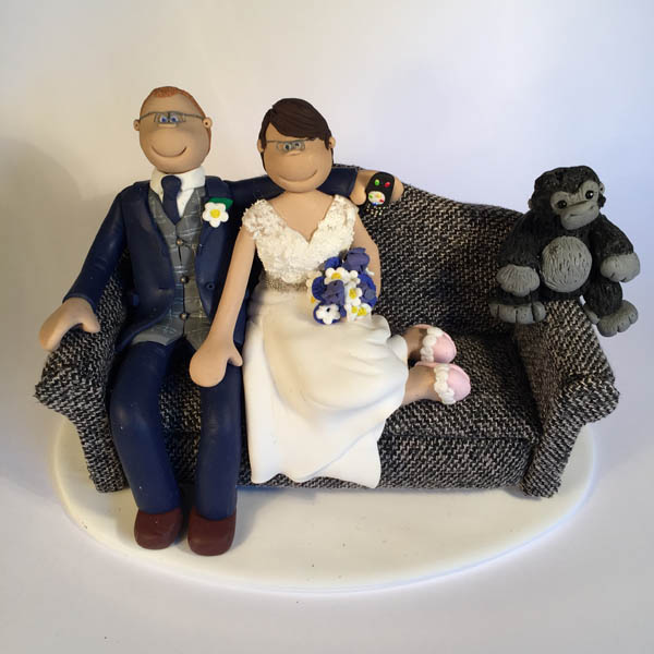 Themed Wedding Cake Toppers Totally