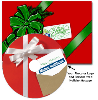 Christmas CD Cards