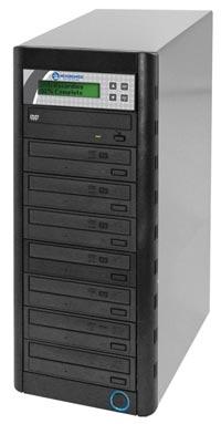 QD Economy Series CD/DVD Tower 1-to-7 Duplicator