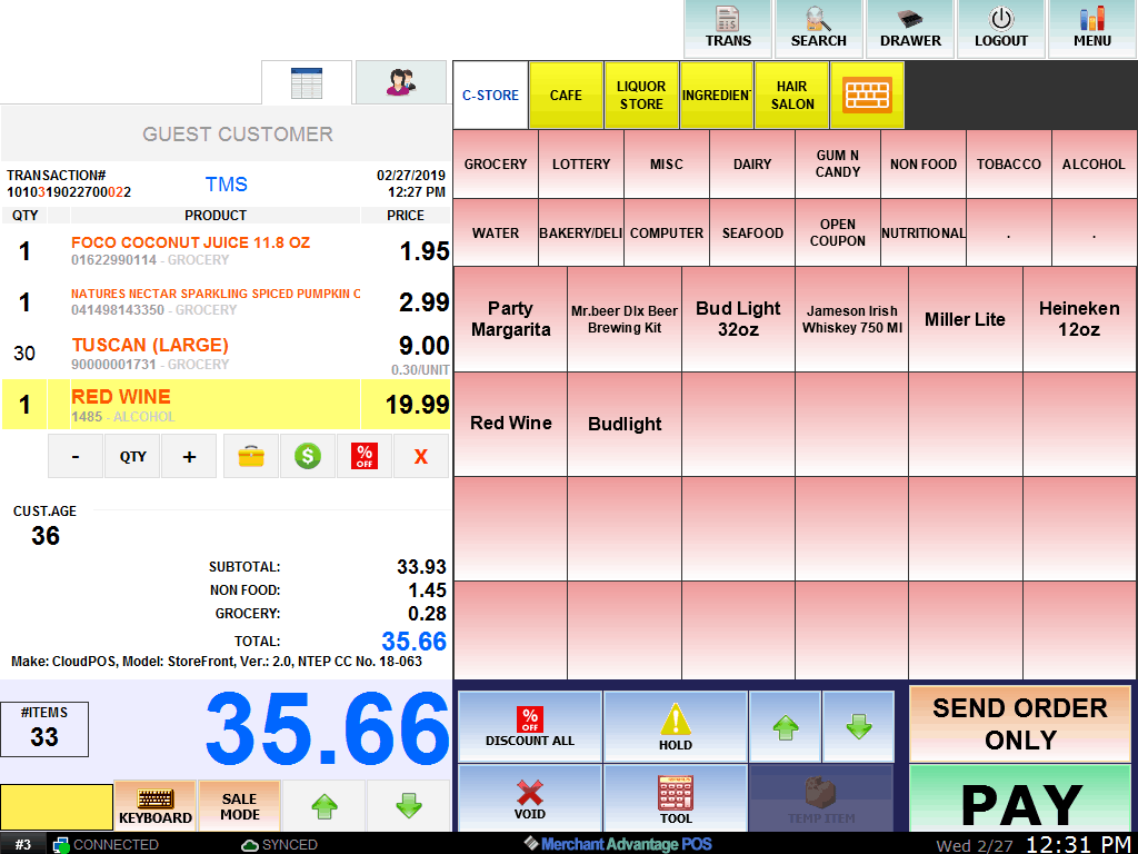 Introducing our Total Restaurant POS