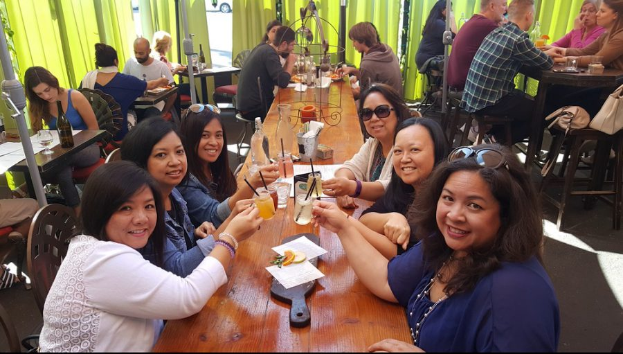 Total Mom Makeover Lora Bumatay with Friends