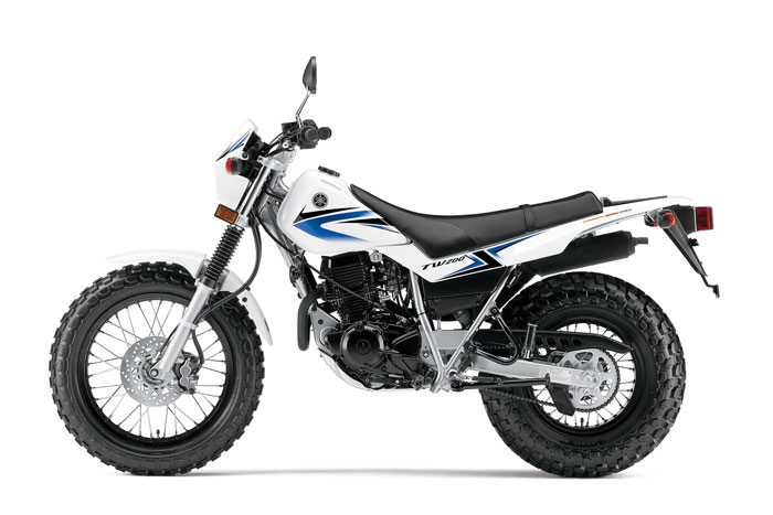 2013 Yamaha TW200 Review