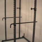 Power Rack NEW Squat Deadlift HD Lift Cage Bench Racks Chrome Safety