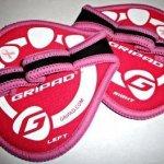Gripad Workout Grips, Pink