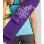 Gaiam Watercress Cargo Yoga Mat Bag