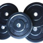 260 Lbs New Bumper Plates Set Olympic Plates Solid Plates Weight Plates for Crossfit Training Weight Lifting Gym By Onefitwonder