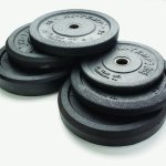 RAGE Fitness Hi Temp Olympic Rubber Bumpers (25 LB)