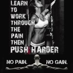 PUSH HARDER!!! You can do it. #fit #strong
