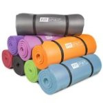 Fit Spirit® 0.5″ Inch NBR Exercise Fitness Yoga Mat – Choose Your Color