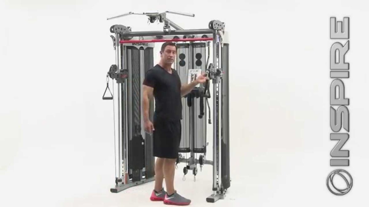 Inspire Fitness Ft2 Functional Trainer and Smith Station