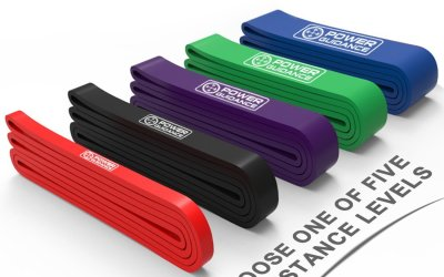 POWER GUIDANCE Pull Up Assist Bands – Heavy Duty Resistance Band – Mobility & Powerlifting Bands