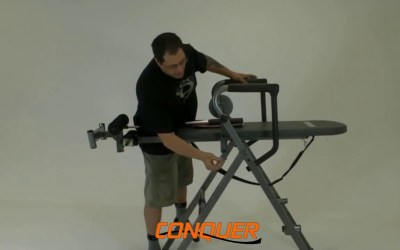 Conquer 6-in-1 Inversion Table Power Tower Home Gym