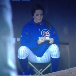 Did Chicago Cubs Ball Girl Give Her Number To A Fan Video  Total Pro Sports