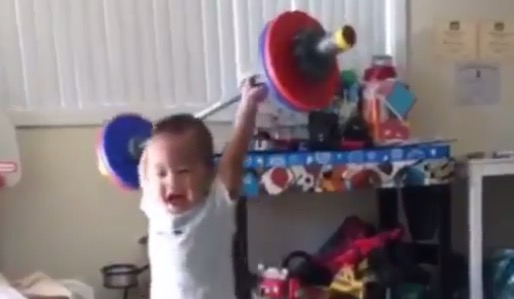 baby lifting images reverse